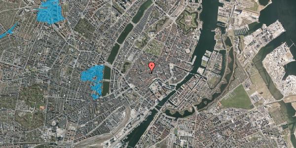 Oversvømmelsesrisiko fra vandløb på Klosterstræde 8, 3. , 1157 København K