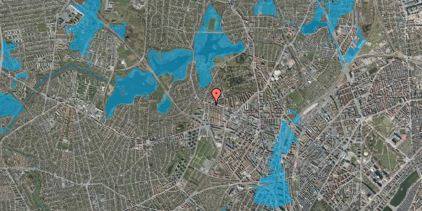 Oversvømmelsesrisiko fra vandløb på Skoleholdervej 95, 1. tv, 2400 København NV