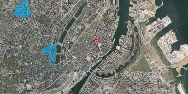 Oversvømmelsesrisiko fra vandløb på Kristen Bernikows Gade 3, 1105 København K