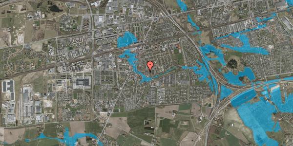 Oversvømmelsesrisiko fra vandløb på Valbyvej 47D, st. 8, 2630 Taastrup