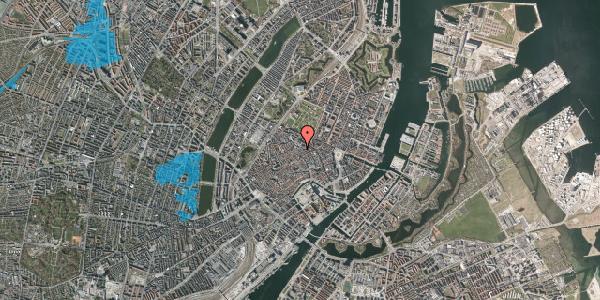 Oversvømmelsesrisiko fra vandløb på Klareboderne 3E, 1115 København K
