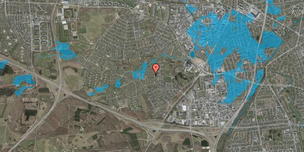 Oversvømmelsesrisiko fra vandløb på Vængedalen 509, 2600 Glostrup