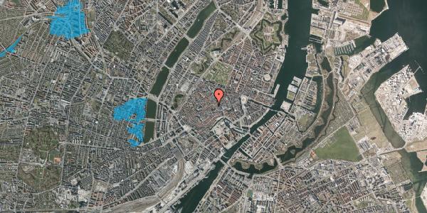 Oversvømmelsesrisiko fra vandløb på Niels Hemmingsens Gade 7, 1153 København K