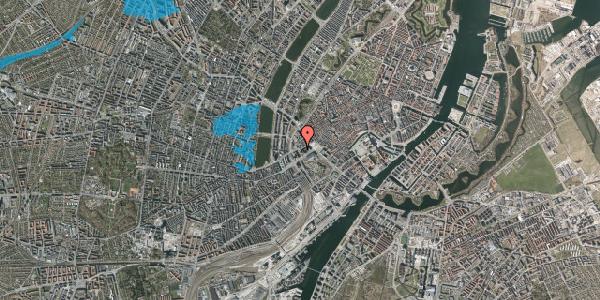 Oversvømmelsesrisiko fra vandløb på Jernbanegade 8, 1608 København V