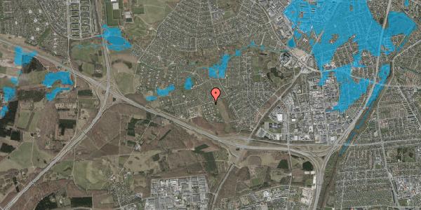 Oversvømmelsesrisiko fra vandløb på Kamillevænget 15, 2600 Glostrup