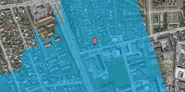 Oversvømmelsesrisiko fra vandløb på Hf. Svarø 11, 2650 Hvidovre