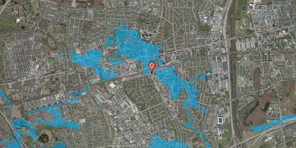 Oversvømmelsesrisiko fra vandløb på Banemarksvej 2A, 2600 Glostrup