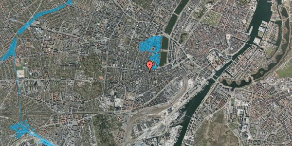 Oversvømmelsesrisiko fra vandløb på Vesterbrogade 84, 4. , 1620 København V