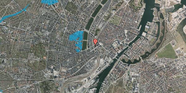 Oversvømmelsesrisiko fra vandløb på Ved Vesterport 3, 2. , 1612 København V