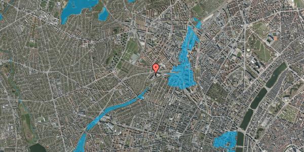 Oversvømmelsesrisiko fra vandløb på Jordbærvej 45, 2400 København NV
