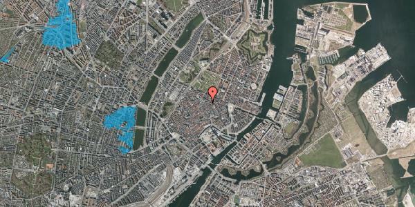 Oversvømmelsesrisiko fra vandløb på Møntergade 1, 1. , 1116 København K