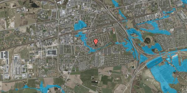 Oversvømmelsesrisiko fra vandløb på Valbyvej 47E, st. 14, 2630 Taastrup