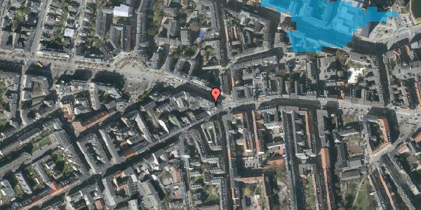 Oversvømmelsesrisiko fra vandløb på Frederiksberg Allé 1, 7. , 1621 København V