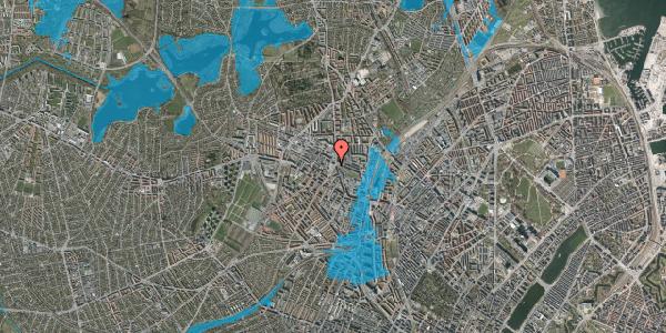 Oversvømmelsesrisiko fra vandløb på Glasvej 29, 2. tv, 2400 København NV