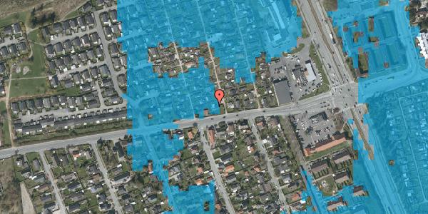Oversvømmelsesrisiko fra vandløb på Hf. Kettehøj 49, 2650 Hvidovre