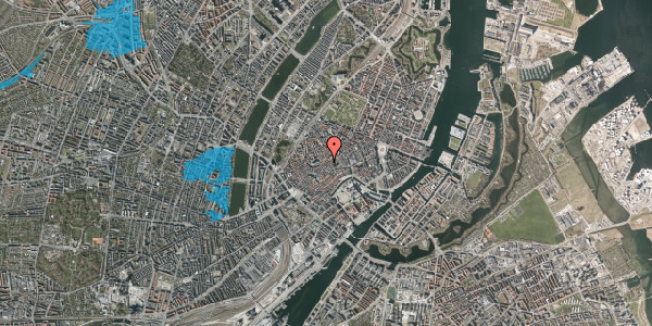 Oversvømmelsesrisiko fra vandløb på Klosterstræde 23, 4. tv, 1157 København K