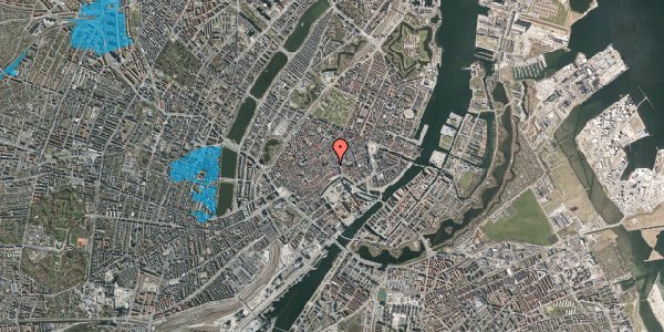 Oversvømmelsesrisiko fra vandløb på Niels Hemmingsens Gade 2, 1153 København K