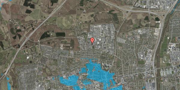 Oversvømmelsesrisiko fra vandløb på Naverland 26, 2600 Glostrup