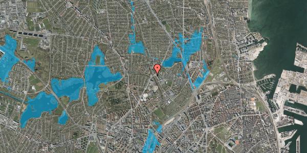 Oversvømmelsesrisiko fra vandløb på Tuborgvej 173, 2400 København NV