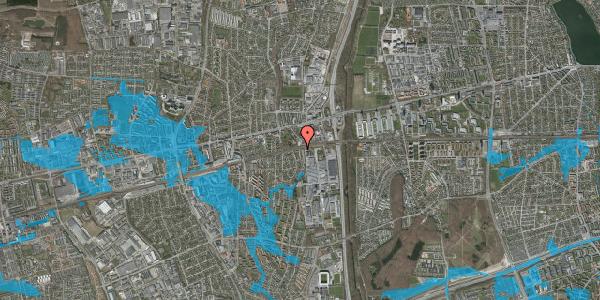 Oversvømmelsesrisiko fra vandløb på Søndervangsvej 62A, 2600 Glostrup