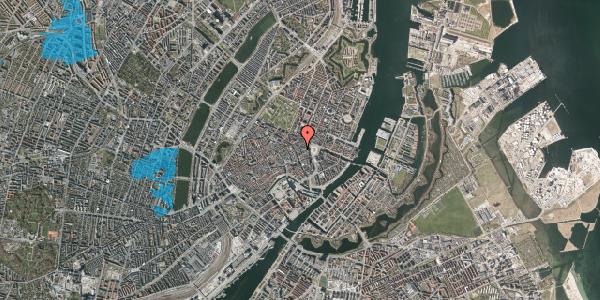 Oversvømmelsesrisiko fra vandløb på Ny Østergade 7A, 1101 København K