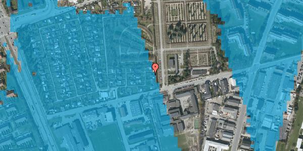 Oversvømmelsesrisiko fra vandløb på Hf. Svarø 138, 2650 Hvidovre