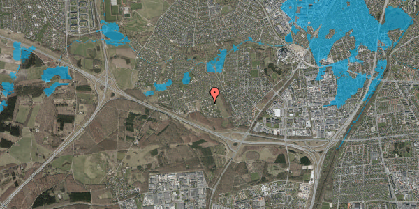 Oversvømmelsesrisiko fra vandløb på Kamillevænget 29, 2600 Glostrup