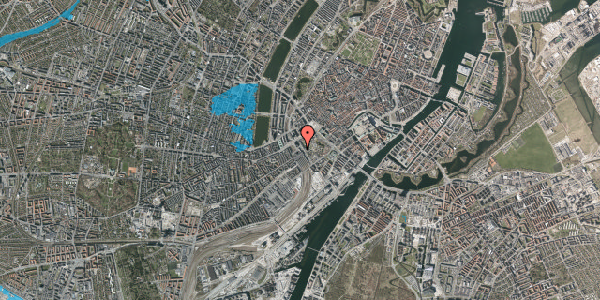 Oversvømmelsesrisiko fra vandløb på Bernstorffsgade 12, 2. , 1577 København V