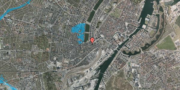 Oversvømmelsesrisiko fra vandløb på Vesterbrogade 23, 1620 København V