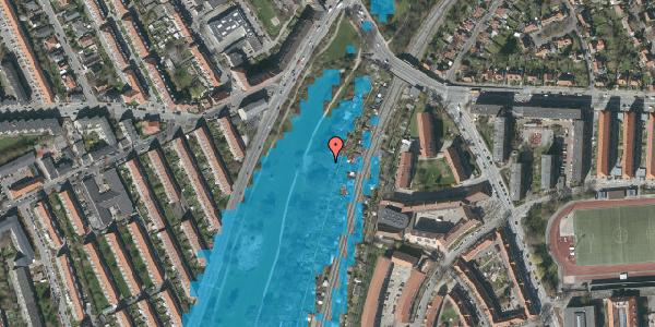 Oversvømmelsesrisiko fra vandløb på Hf. Grænsen 12, 2000 Frederiksberg