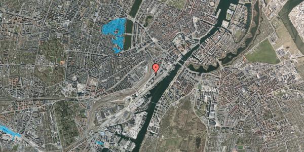 Oversvømmelsesrisiko fra vandløb på Carsten Niebuhrs Gade 14, 1577 København V