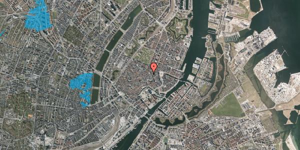 Oversvømmelsesrisiko fra vandløb på Antonigade 7A, 1106 København K