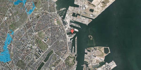 Oversvømmelsesrisiko fra vandløb på Marmorvej 31, 2. th, 2100 København Ø