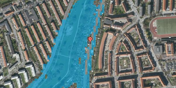 Oversvømmelsesrisiko fra vandløb på Hf. Grænsen 37, 2000 Frederiksberg