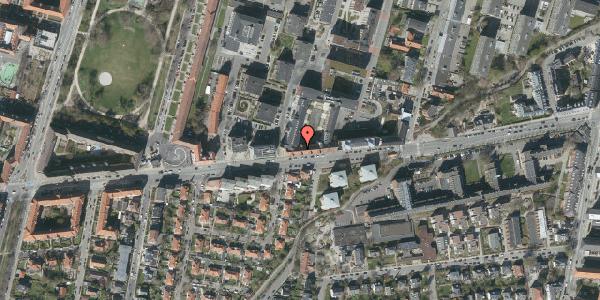 Oversvømmelsesrisiko fra vandløb på Peter Bangs Vej 32, 2. , 2000 Frederiksberg