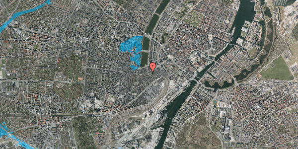 Oversvømmelsesrisiko fra vandløb på Vesterbrogade 29A, 5. , 1620 København V