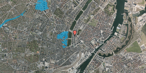 Oversvømmelsesrisiko fra vandløb på Nyropsgade 22, 4. , 1602 København V