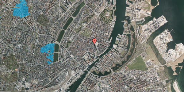 Oversvømmelsesrisiko fra vandløb på Østergade 26, 1100 København K