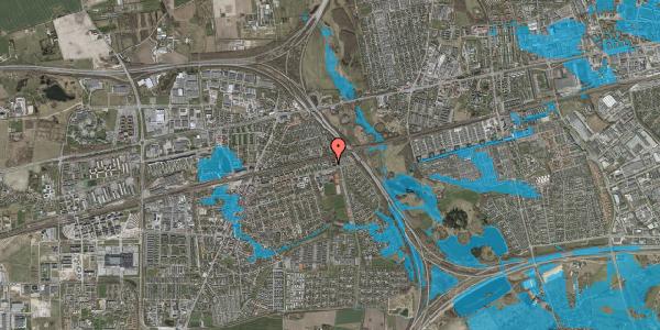 Oversvømmelsesrisiko fra vandløb på Parkvej 135D, st. , 2630 Taastrup