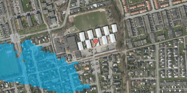 Oversvømmelsesrisiko fra vandløb på Horsbred 197, 2625 Vallensbæk