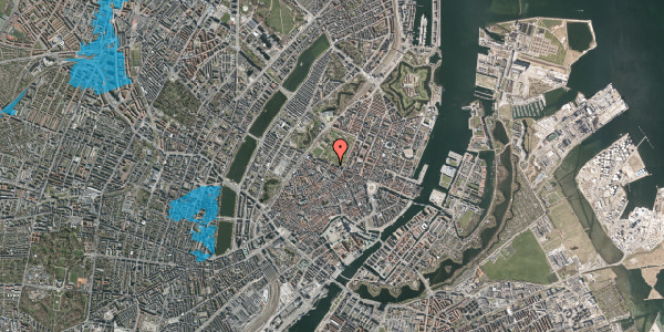 Oversvømmelsesrisiko fra vandløb på Gothersgade 55, 1. tv, 1123 København K