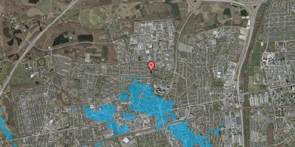 Oversvømmelsesrisiko fra vandløb på Haveforeningen Hersted 56, 2600 Glostrup