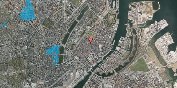 Oversvømmelsesrisiko fra vandløb på Pilestræde 63, 4. , 1112 København K