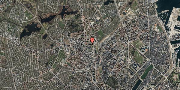 Oversvømmelsesrisiko fra vandløb på Bygmestervej 21C, st. tv, 2400 København NV