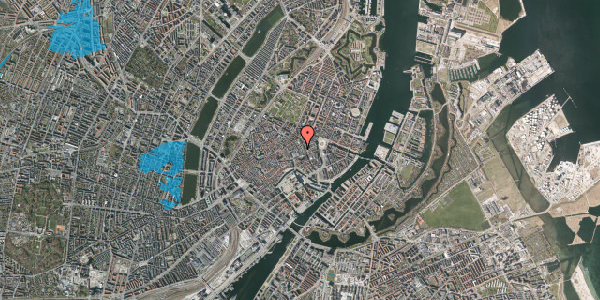 Oversvømmelsesrisiko fra vandløb på Pilestræde 10, 1112 København K
