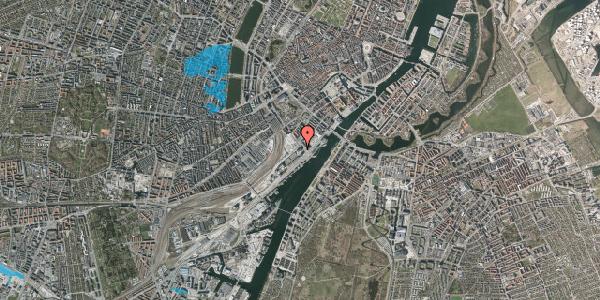 Oversvømmelsesrisiko fra vandløb på Bernstorffsgade 50, 1. , 1577 København V