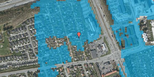 Oversvømmelsesrisiko fra vandløb på Hf. Kettehøj 94, 2650 Hvidovre