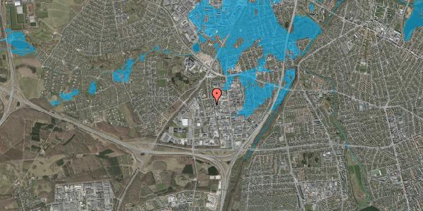 Oversvømmelsesrisiko fra vandløb på Ydergrænsen 49, 2600 Glostrup