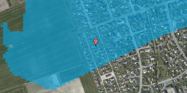 Oversvømmelsesrisiko fra vandløb på Hf. Dahlia 63, 2650 Hvidovre