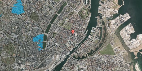 Oversvømmelsesrisiko fra vandløb på Pilestræde 14G, 1112 København K